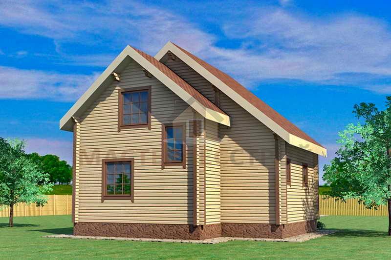 Строительство домов из профилированного бруса в тюмени и урф.